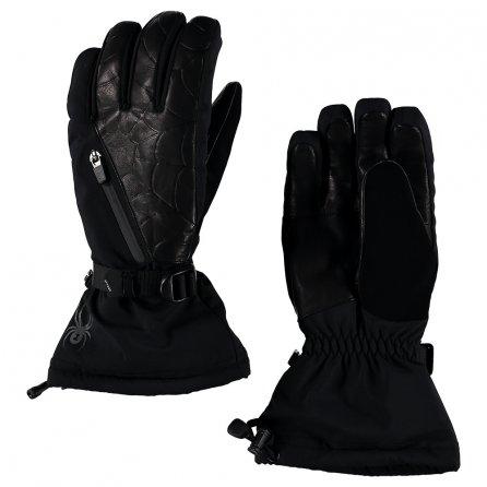 Spyder Omega Ski Glove (Men's) - Black/Black
