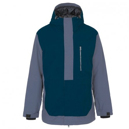 Pulse Convoy Insulated Snowboard Jacket (Men's) - Indigo/Charcoal