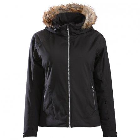 Descente Charlotte Insulated Ski Jacket (Women's) - Black/Black