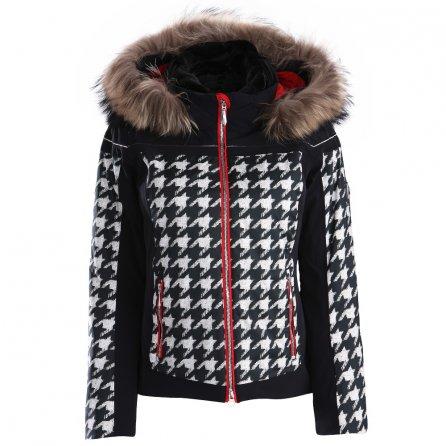 Descente Raven Insulated Ski Jacket (Women's) - Chidori White/Black/Electric Red