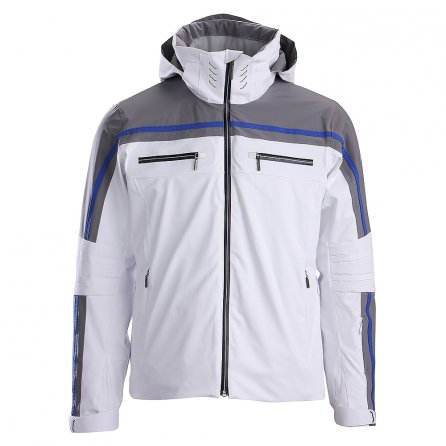 Descente Swiss Insulated Ski Jacket (Men's) - Super White/Gray/Super White