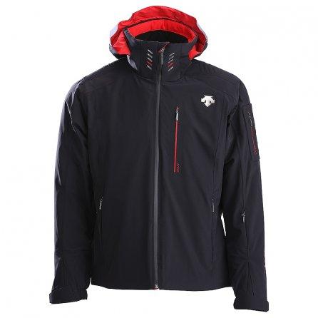 Descente Regal Insulated Ski Jacket (Men's) - Black/Electric Red