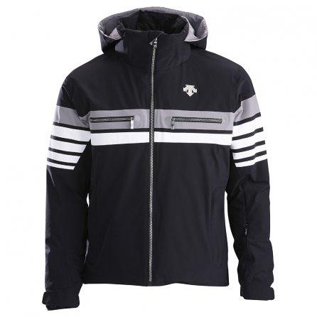 Descente Editor Insulated Ski Jacket (Men's) - Black/Super White/Gray