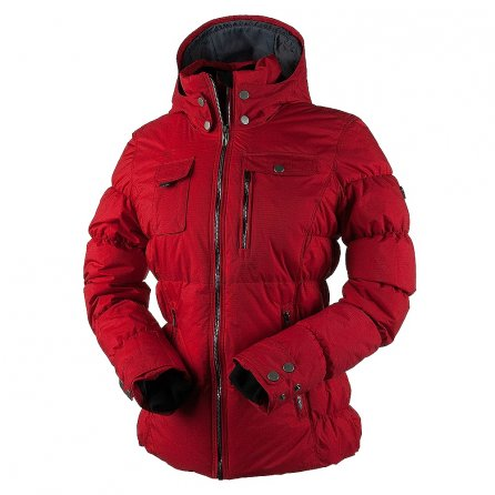 Obermeyer Leighton Insulated Ski Jacket (Women's) - Crimson