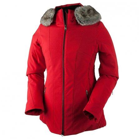 Obermeyer Siren Faux Fur Insulated Ski Jacket (Women's) - Crimson