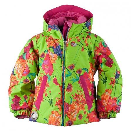 Obermeyer Ashlyn Insulated Ski Jacket (Little Girls') - Flower Burst
