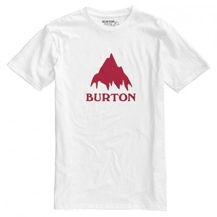 Burton Classic Mountain Short Sleeve T-Shirt (Men's) - Stout White