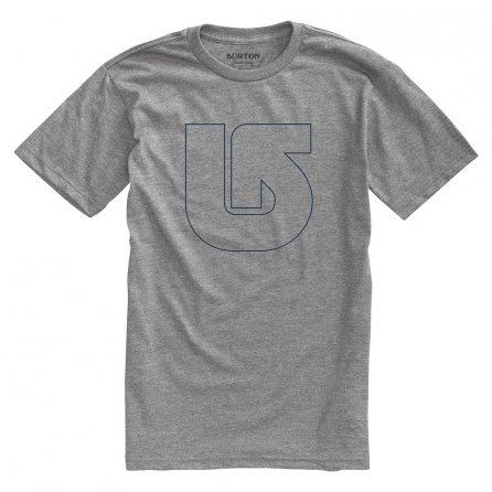 Burton Pinner Short Sleeve T-Shirt (Men's) - Heather Grey
