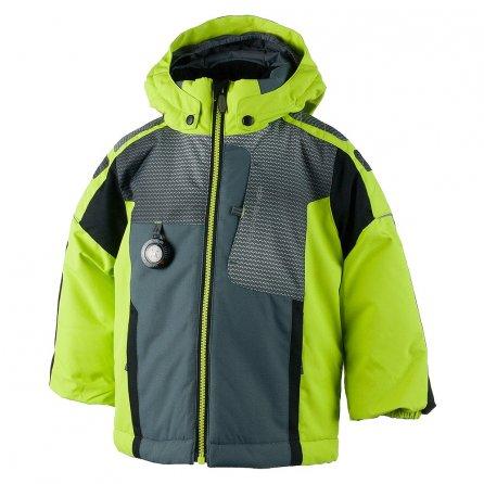 Obermeyer Blaster Insulated Ski Jacket (Little Boys') - Screamin Green