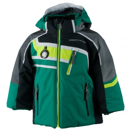 Obermeyer Tomcat Insulated Ski Jacket (Little Boys') - Forevergreen