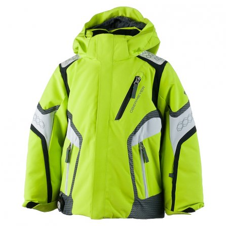 Obermeyer Cobra Insulated Ski Jacket (Little Boys') - Screamin Green