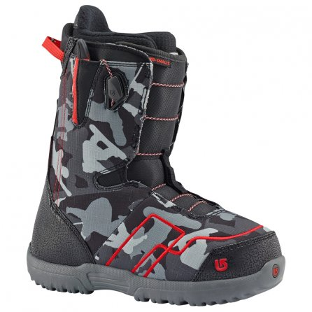 Burton AMB Smalls Snowboard Boot (Kids') - Black/Red
