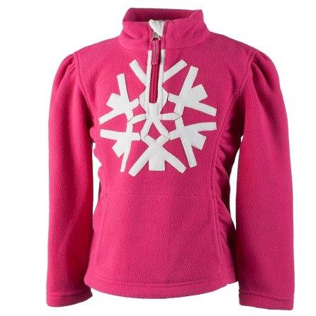 Obermeyer Snowcrystal Fleece Top (Little Girls') - Glamour Pink