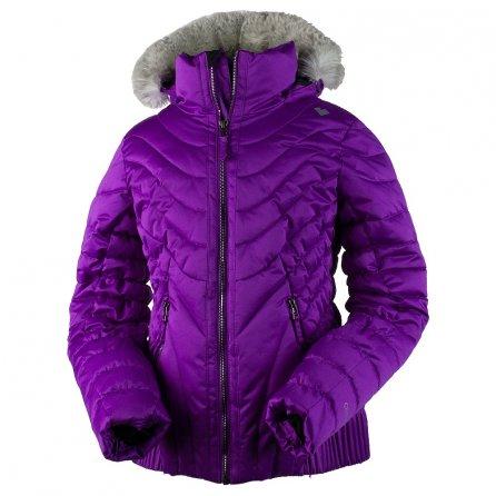Obermeyer Aisha Insulated Ski Jacket (Girls') - Violet Vibe