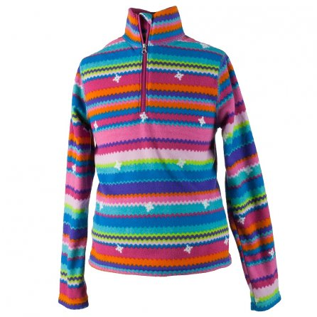 Obermeyer Bomber Pro Fleece Top (Kids') - Scribble Stripe