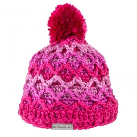 Obermeyer Averee Knit Hat (Little Girls') - Smitten Pink