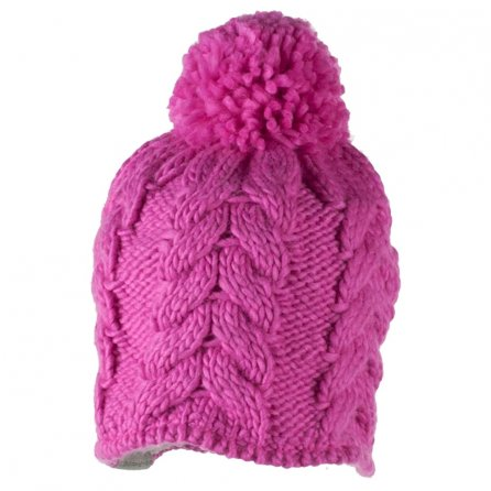 Obermeyer Livy Knit Hat (Little Girls') - Peony Pink