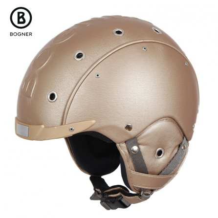 Bogner Leather Helmet (Adults') - Champagne