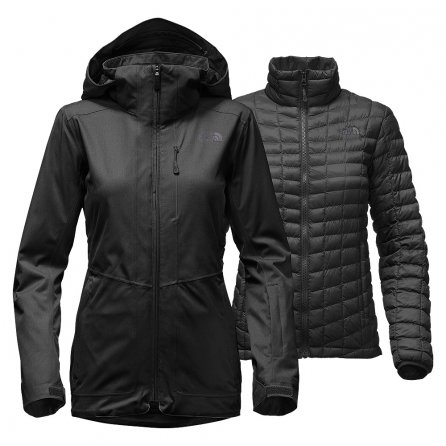 The North Face Thermoball Snow Triclimate Parka (Women's) - TNF Black