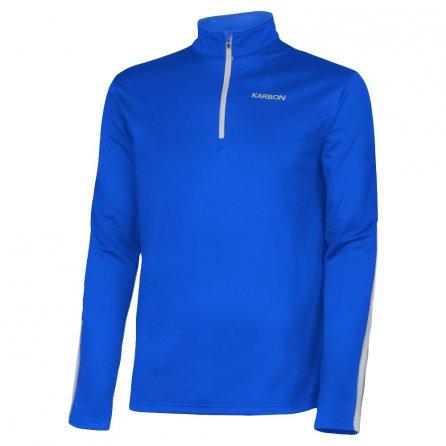 Karbon Chronus 1/4-Zip Turtleneck Fleece Mid-Layer (Boys') - Olympic Blue/Arctic White