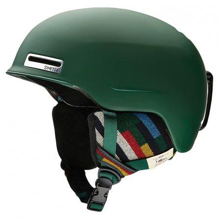Smith Maze Helmet (Adults') - Matte Forest Woolrich