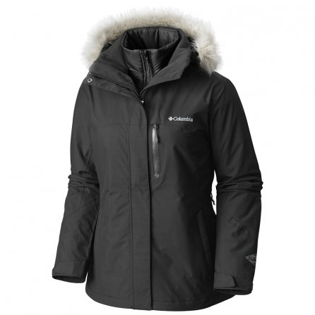 Columbia Lhotse Interchange 3-in-1 Ski Jacket (Women's) - Black