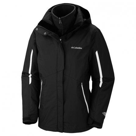 Columbia Bugaboo Interchange 3-in-1 Ski Jacket (Women's) - Black