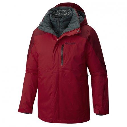 Columbia Powderkeg Interchange 3-in-1 Jacket (Men's) - Mountain Red/Jester Red