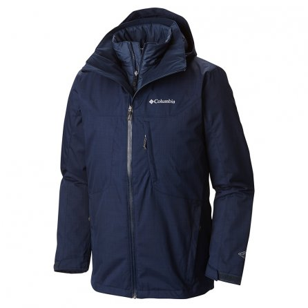 Columbia Whirlibird Interchange Tall 3-in-1 Ski Jacket (Men's)  - Collegiate Navy