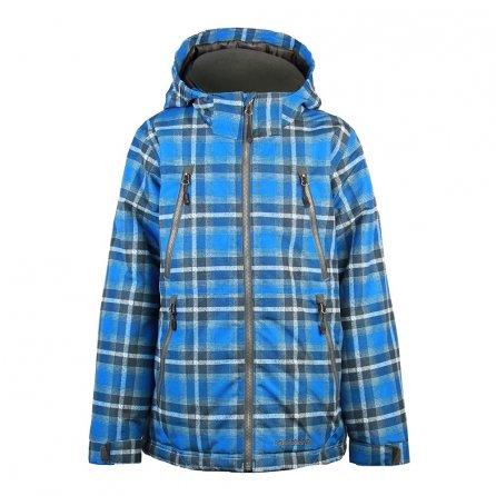 Boulder Gear Highflier Jacket (Boys') - Blue Plaid