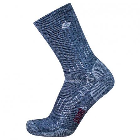 Point6 Trekking Heavy Crew Sock (Adults') - Gray