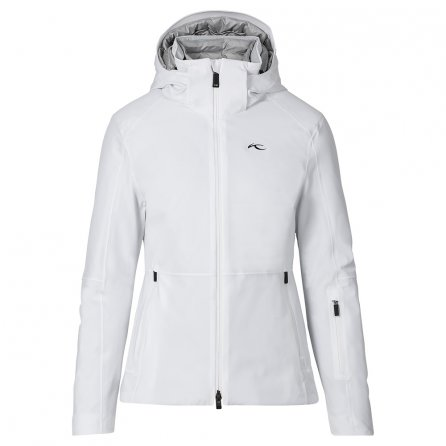 KJUS Tree Ring Down Ski Jacket (Women's) - White/Pearl Blue