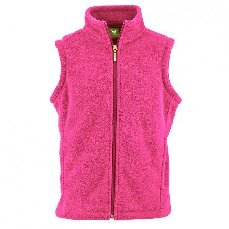 White Sierra Sierra Mountain Fleece Mid-Layer Vest (Kids') - Cabaret