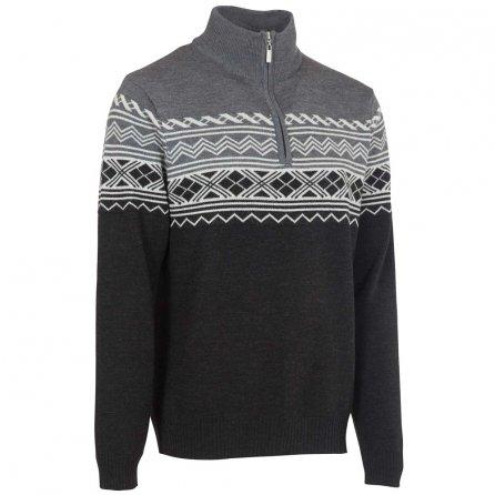 Neve Designs Lars Half Zip Sweater (Men's) - Black