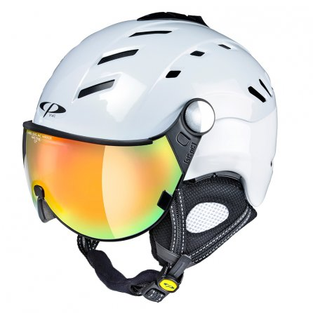 CP Camurai Helmet (Women's) - White/Shiny