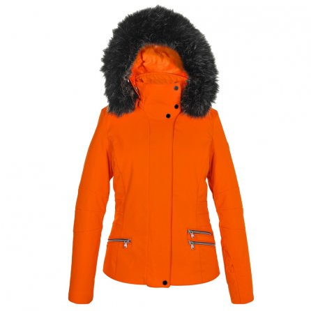 Poivre Blanc Stretch Insulated Ski Jacket with Faux Fur (Women's) -