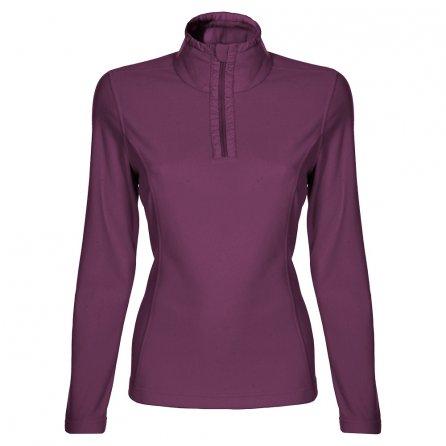 Poivre Blanc Polar Half Zip Fleece Mid-Layer (Women's) - Plum Purple