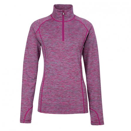 Fera Maria Half Zip Space Dye Fleece Mid-Layer (Women's) - Orchid Melange