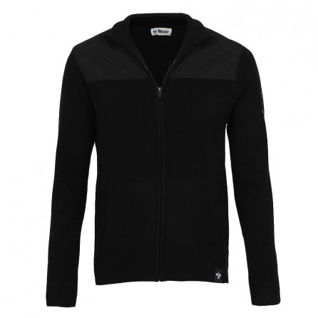 Meister Leader Full-Zip Sweater (Men's) - Black/Black