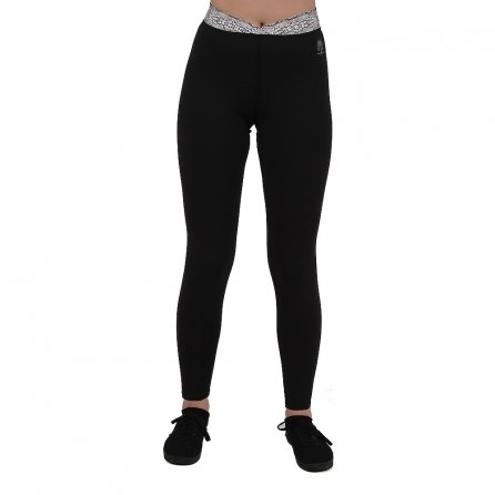 Snow Angel Wild at Heart Baselayer Legging (Women's) - Black/Cobra