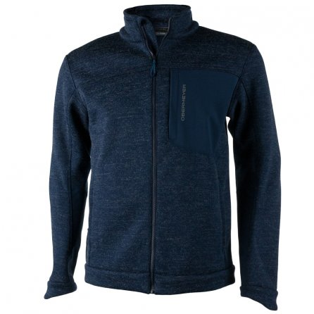Obermeyer Gunner Bonded Knit Fleece Jacket (Men's) - Storm Cloud