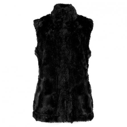 Sno Skins Faux Fur Vest (Women's) - Black