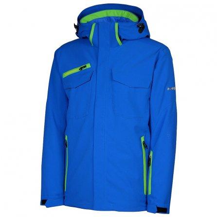 Karbon Apollo Insulated Ski Jacket (Men's) - Olympic Blue/Electric Green