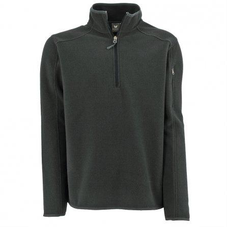 White Sierra Cloud Rest Half Zip Fleece Mid-Layer (Men's) - Asphalt