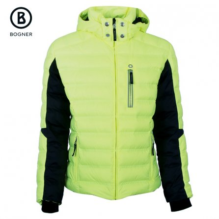 Bogner Adrian-D Down Ski Jacket (Men's) - Glowing Green