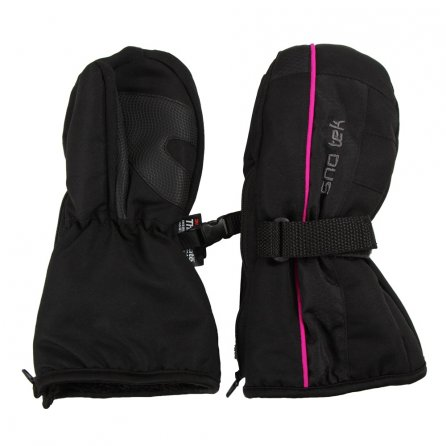 Sno Tek Mitten (Toddlers) - Black/Pink