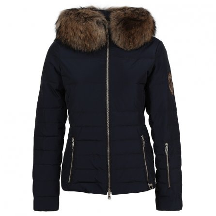 M. Miller Anya Down Ski Jacket with Real Fur (Women's) - Navy
