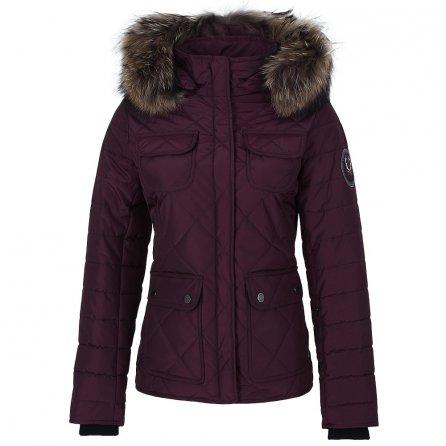 M. Miller Trax Ski Jacket with Real Fur (Women's) - Burgundy