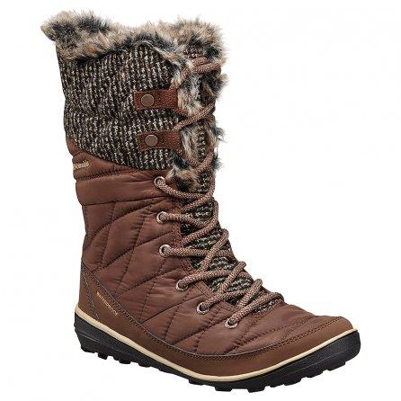 Columbia Heavenly Omni-HEAT Knit Boots (Women's) - Tobacco
