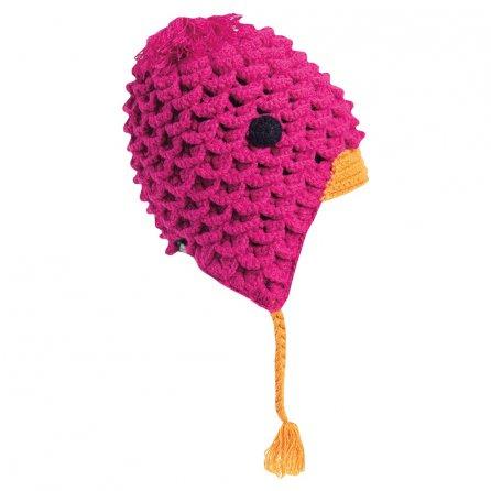 Turtle Fur Free Range Hat (Little Girls') - Fuchsia
